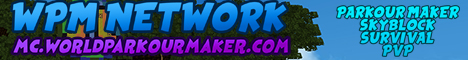 World Parkour Maker minecraft server